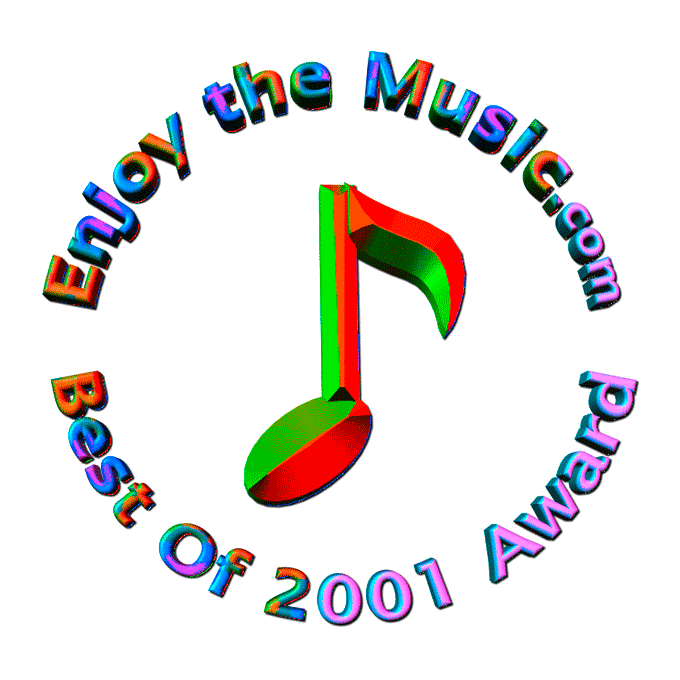 Best of 2001 Award Enjoy the music.com