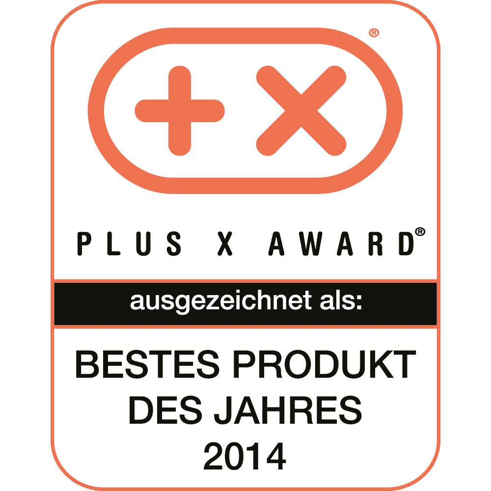 Plus X Award: Bestes Produkt 2014