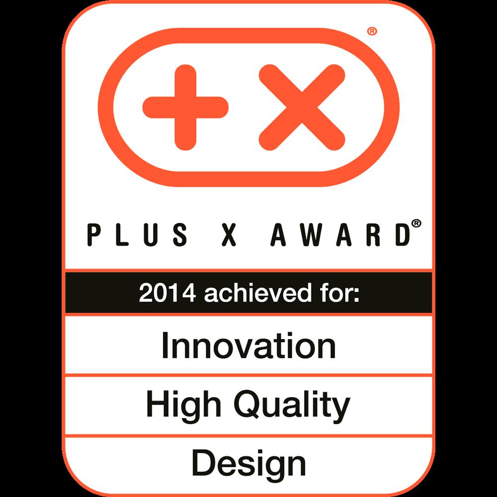 Innovation, HighQuality, Design, Plus X Award 2014