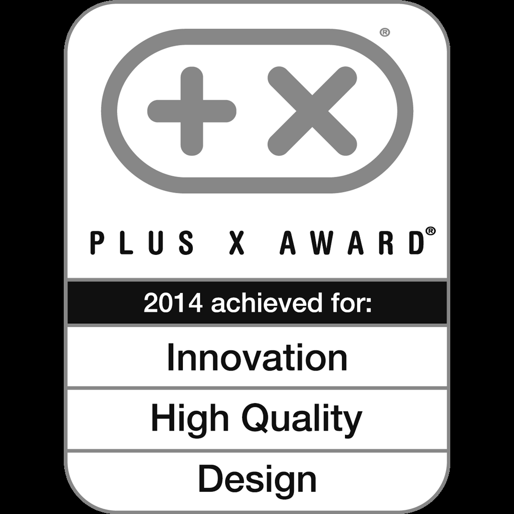 Innovation, HighQuality, Design, Plus X Award 2014