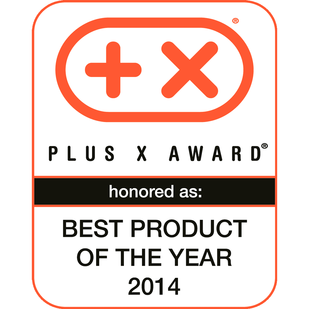 Best Product of the Year, Plus X Award 2014